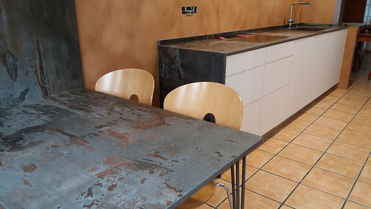 cuina amb dekton trilium de 2 cm marbres sell s. Black Bedroom Furniture Sets. Home Design Ideas